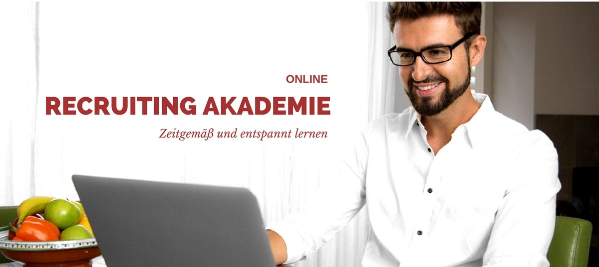 Online Recruiting Akademie - Projekt von upo und Rekrutierungserfolg.de
