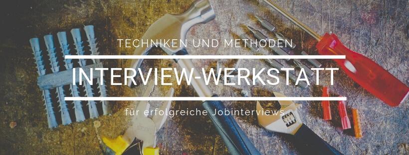 Online-Kurs: Interview-Werkstatt Jobinterviews - Online Recruiting Akademie
