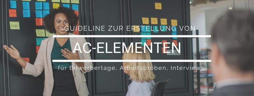 Online-Kurs: Guideline zur Entwicklung von AC-Aufgaben - Online Recruiting Akademie