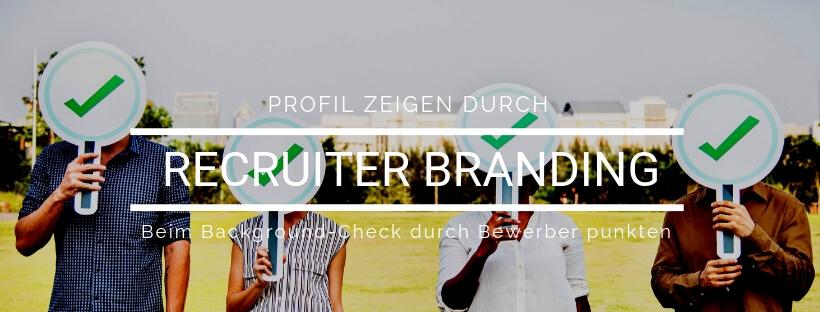 Minikurs: Recruiter Branding - Online Recruiting Akademie