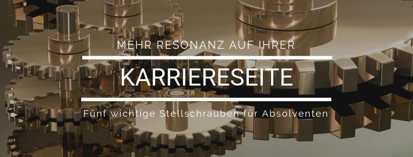Minikurs: Stellschrauben Karriereseite - Online Recruiting Akademie