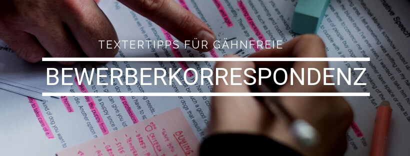 Minikurs: Textertipps Bewerberkorrespondenz - Online Recruiting Akademie